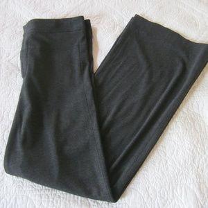 Vince Pants 6 Dark Gray High Rise Wide Leg